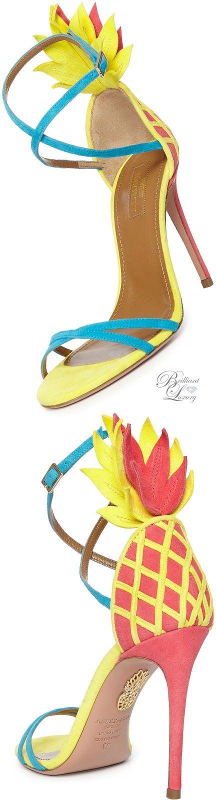 Brilliant Luxury * Aquazzura Pina Colada Strappy Sandal