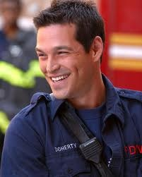Eddie Cibrian from Third Watch.  I still have episodes of it on my DVR!!!!!