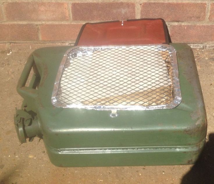 Upcycled Jerry Can Disposable BBQ Holder,Man Cave,Camping Recycled, Mini Bar BQ
