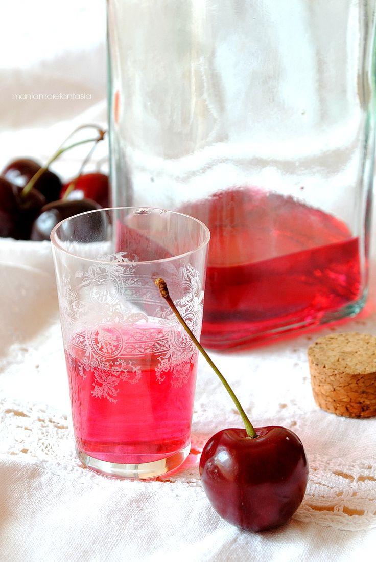 liquore di ciliegie, sherry, cherry