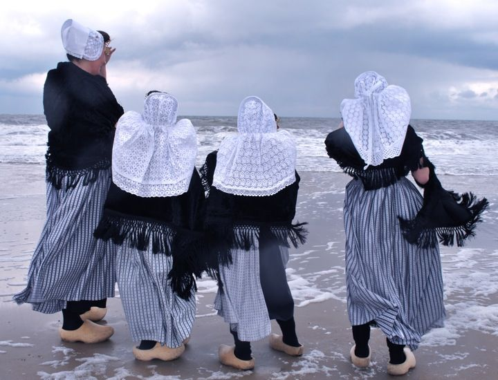 Folk costumes from Walcheren. #greetingsfromnl