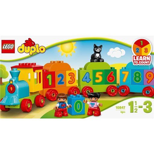 Comboio dos Números - Lego - Continente Online