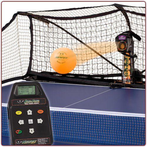 Newgy Robo-Pong 2050 – Table Tennis Robot « Game Searches