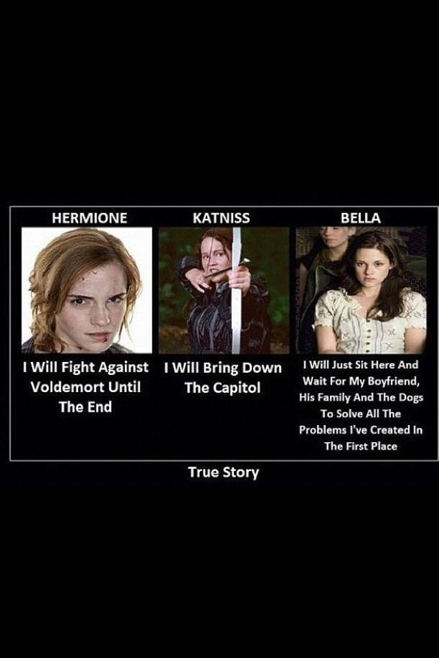 True Story of Hermione Granger from Harry Potter, Katniss ...