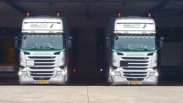 Brothers on the job  #scania #drivember #container #transport #teamup