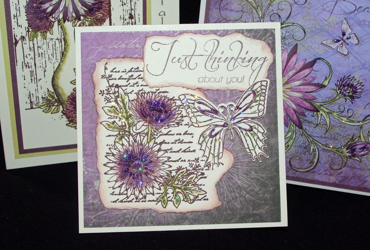 Heartfelt Creations cards - made during a class with Emma Lou Beechy - June 2013)