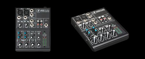 The Mackie VLZ4 compact mixer is literally built like a tank and it has just the basic functions I need. 4 channels, stereo output, 2 band EQ and high quality onyx preamps. That is all I need to combine all the signals (3 in total: 1. The pure octaver sound, 2. The magnetic pick up chain and 3. The Undersaddle/Mic pick up chain) and mix them into one stereo output.