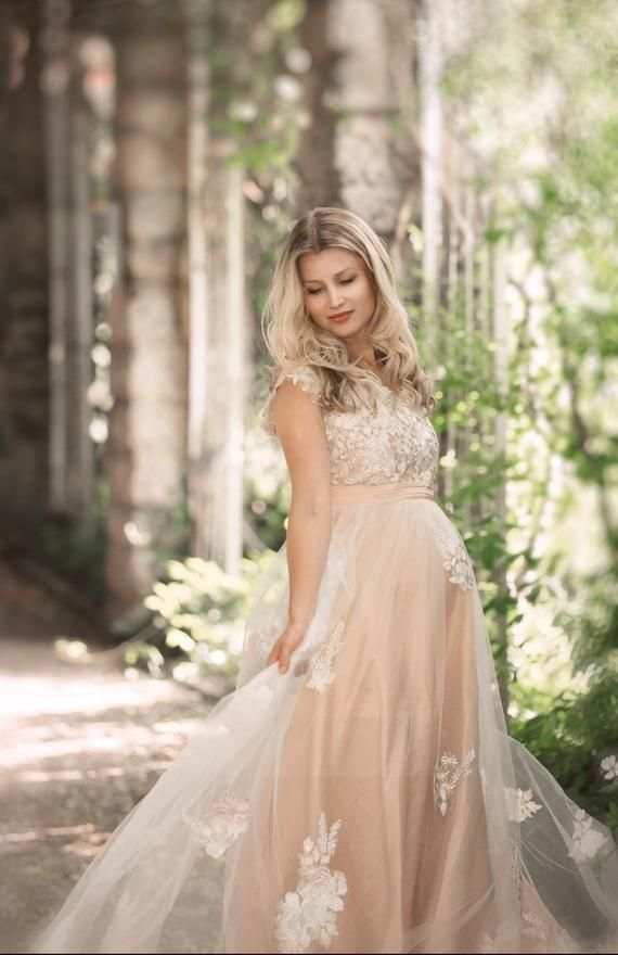 CHARLOTTE Gown \u2022 Maternity Dress for Photoshoot or Babyshower  \u2022 Maternity Gown \u2022 Long Sleeve Maternity Dress \u2022 Bridesmaid Maternity
