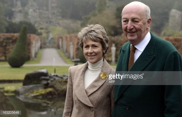 12th Duchess of Devonshire | Peregrine Cavendish, Duke of Devonshire , and his…