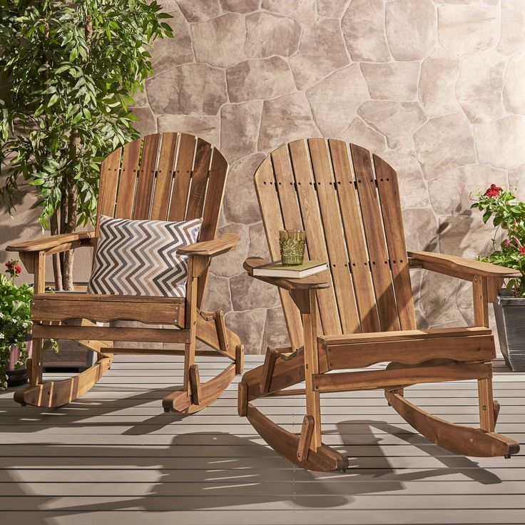 Great Deal Furniture Estelle Outdoor Natural Finish Acacia
