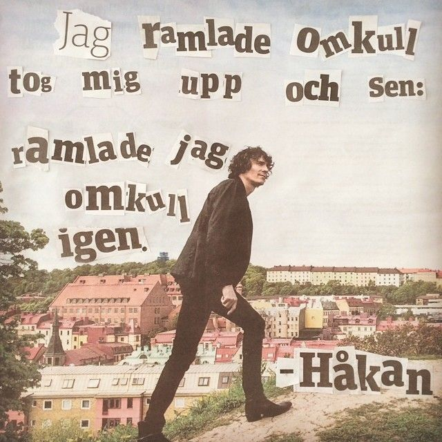 Ramlar - Håkan Hellström.