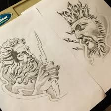 Resultado de imagen para zeus tattoo