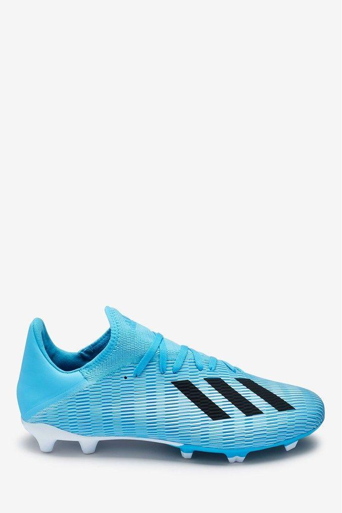 Football Boots On Feet European Football In 2020 Blue Adidas Football Boots Old Football Boots