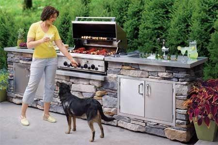 Una cocina al aire libre | 27 Cosas que definitivamente deben estar en la casa de tus sueños