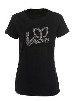 Ladies iaso Bling Tee - Black #shopmytlc