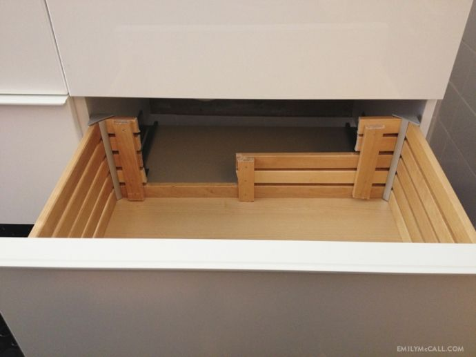 Etagere Expedit Ikea Occasion ~ IKEA GODMORGON sink cabinet drawer hack  EmilyMcCall com