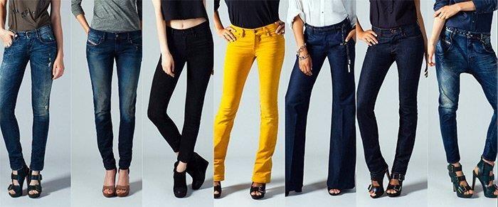 Женские джинсы модные новые модели заказать по почте