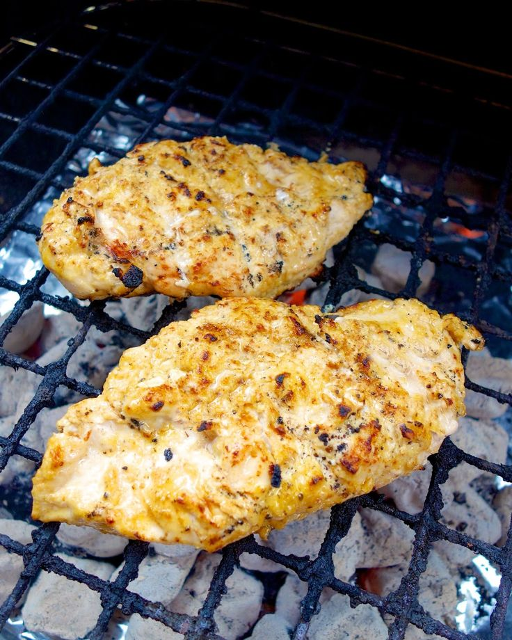 Garlic-Marinated Chicken Cutlets With Grilled Potatoes ...