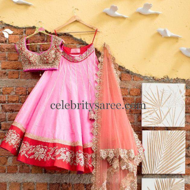 Latest Half Saris by Anushree Reddy | Saree Blouse Patterns
