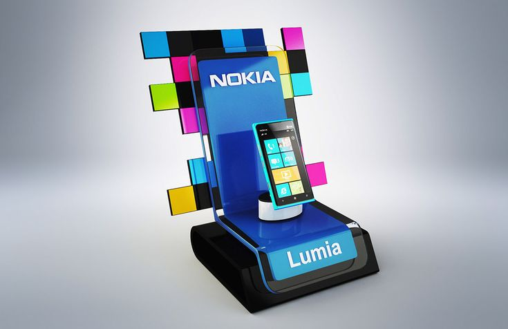 Nokia Lumia Display on Behance