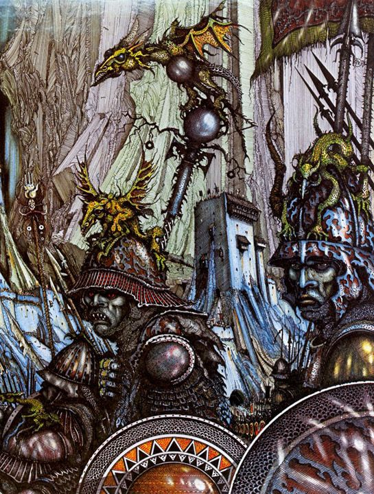 Ian Miller - The Battle of Hornburg