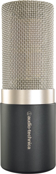 Introducing Audio-Technicas premier studio vocal microphone, the AT5040