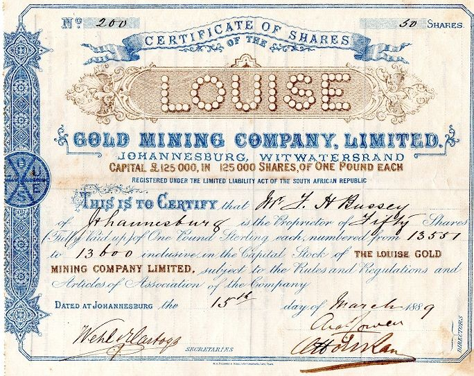 8 best My stock Share Certificates images on Pinterest Mining - Company Share Certificates