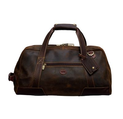 BARON   Duffle Bag  399€  A Duffel Bag from Baron made from naturally treated Italian suede with leather details of the best quality. The inside is lined with checkered fabric. The bag can hold 30 liters and has an inside pocket, an exterior zip pocket and a detachable adjustable shoulder strap.  Find more accessories for men at http://detailsforhim.se #mensfashion #men #accessories #fashionformen #hunting