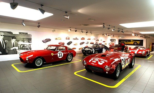 Ferrari open new exhibition showing off some of the most for Top garage villeurbanne