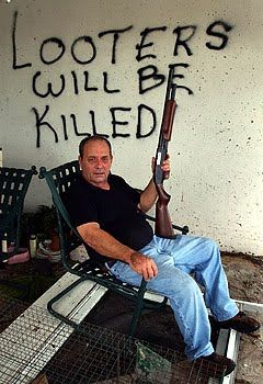 """New Orleans Katrina White People 