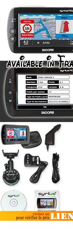 """SNOOPER - PL2000EU - GPS Europe pour Poids lourd - Ecran Tactile 4,3"""" - CarteSD Europe 2 Go. <b>Description du produit</b>: Snooper - Syrius Truckmate Europe. <b>Type de produit</b>: GPS. <b>Affichage</b>: 4.3"""", TFT LCD (480x272 pixels, 64000 Couleurs). <b>Processeur(CPU)</b>: (Xscale microarchitecture core ), 400Mhz. <b>Carte mémoire</b>: Carte SD 2 GO Europe. <b>Récepteur GPS</b>: SIRF Star III (Chip Set). <b>Antenne GPS</b>: Type Patch (15x15) Antenne Active. <b>Interface</b>:"""