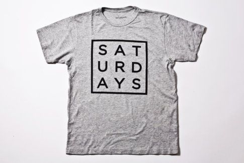 the Saturdays Square Type tee - $30