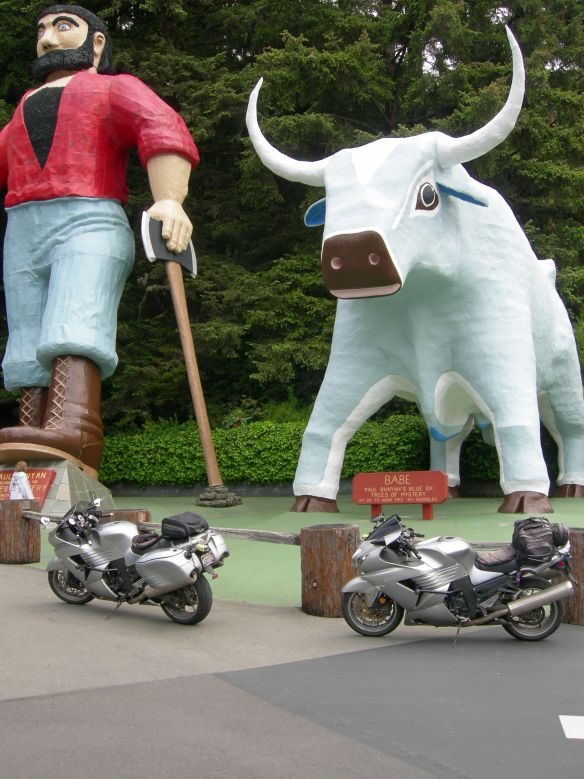 Paul Bunyan and Babe the Blue Ox