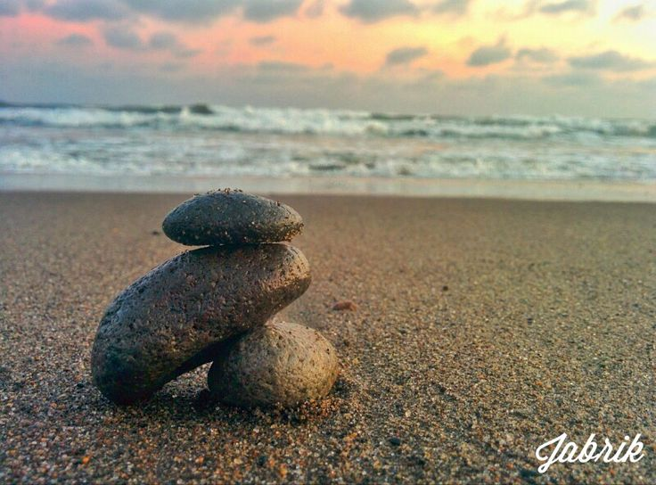 Stone and beach #Indonesia