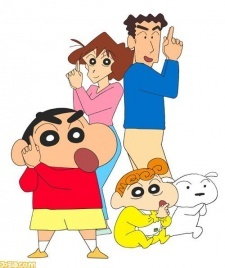 Day 5: Anime you're ashamed you enjoyed: okay honestly I'm not ashamed of any of them cause that would mean I cared what some one else thought of something I enjoyed, and they could kiss my ass lol. But the CLOSEST thing I could come up with is ShinChan, which is ridiculously silly and didn't seem to have much of a real point other than laughs so maybe in the scheme of anime things maybe it ranks a bit lower I dunno lol