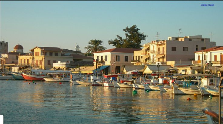 Good morning from the beautiful Port of Aegina!