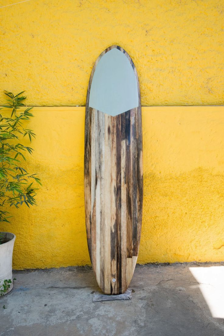 Wooden Surfboards: Agave board made in Haiti