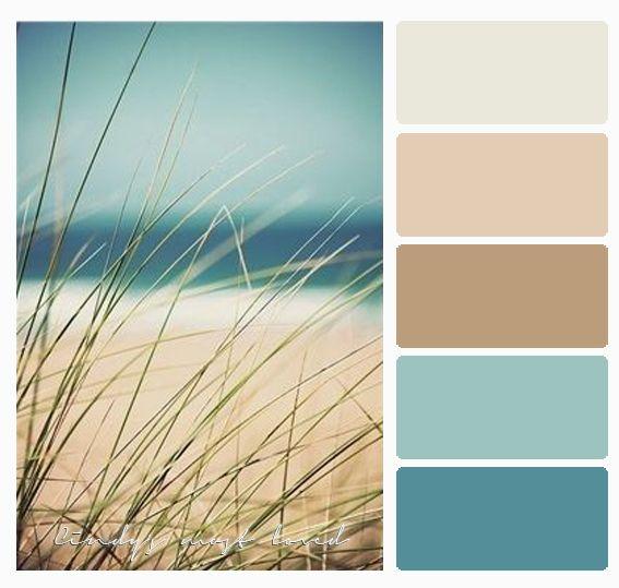 Color Palette Beach Ocean Sea With Images Beach Color Palettes