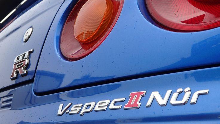 Nissan Skyline GTR R34 V-Spec II Nur for sale at JDM EXPO Japan (2957 FC...