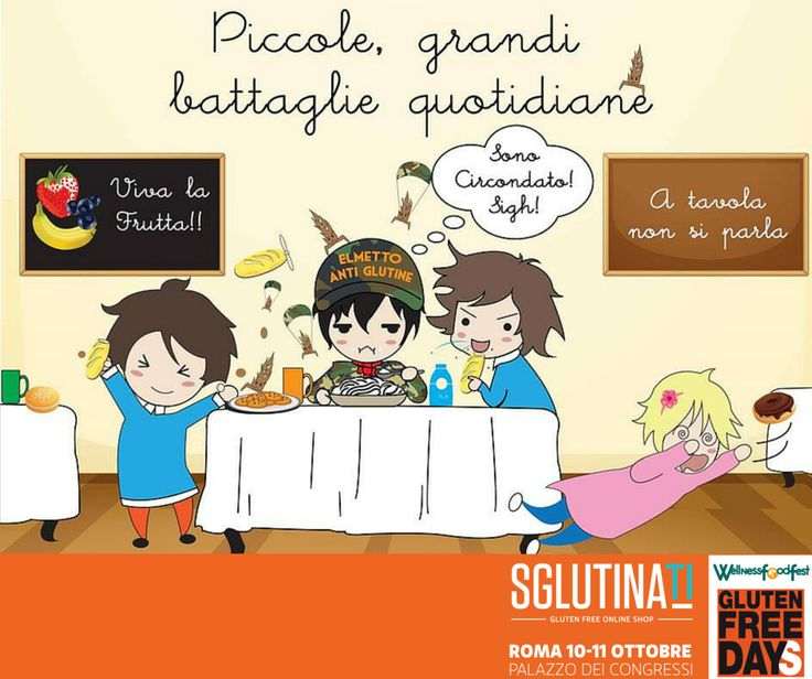 Bambini e celiachia?! Noi abbiamo la soluzione golosa. Vieni al Gluten Free Day e scopri tutti i vantaggi di acquistare su www.sglutinati.it Roma 10-11 Ottobre 2015 - Palazzo dei Congressi #senzaglutine #celiachia #glutenfree #sglutinati