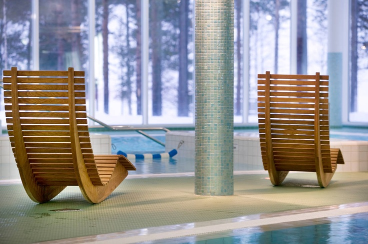 A tranquil fell spa at Holiday Club Salla in Finnish Lapland