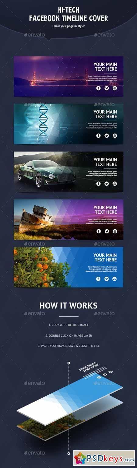 Hi Tech Facebook Timeline Cover 11309512