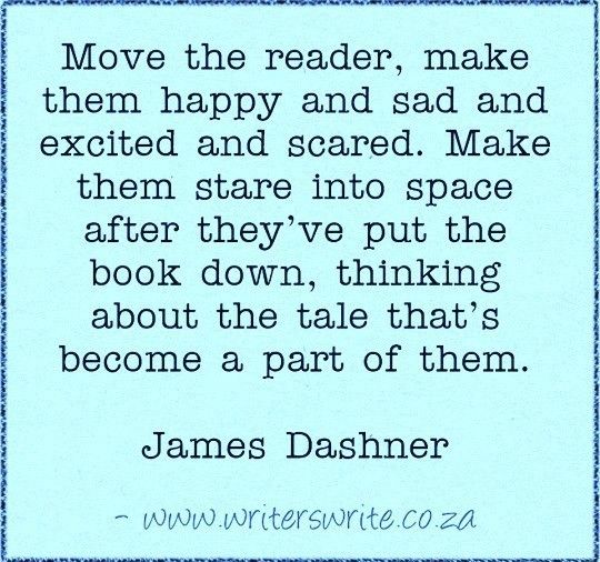 Quotable - James Dashner - Writers Write Creative Blog