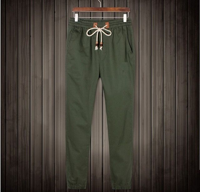 European Cuffed Joggers Pants