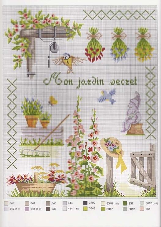 "Gallery.ru : tatasha ""Mon jardin Secret"""