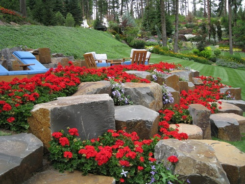 Pretty rocks for landscaping : Rock garden on gardens the and landscaping rocks