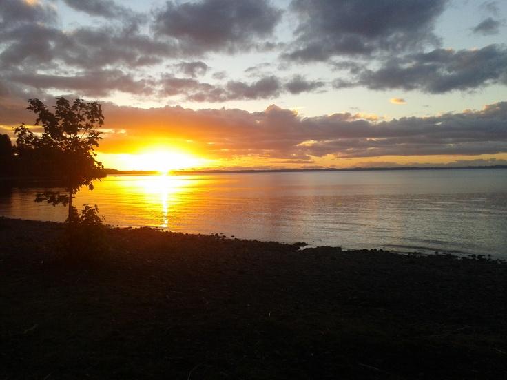 Fotografía tomada en Playa Venado, Puerto Varas, Chile