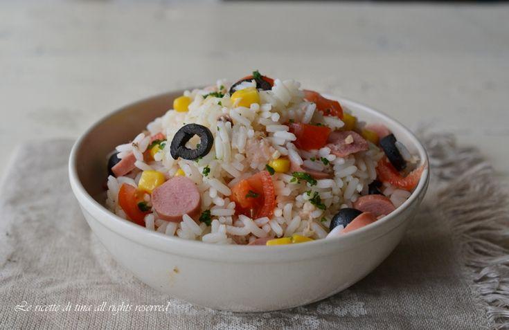 insalata di riso,insalata fredda