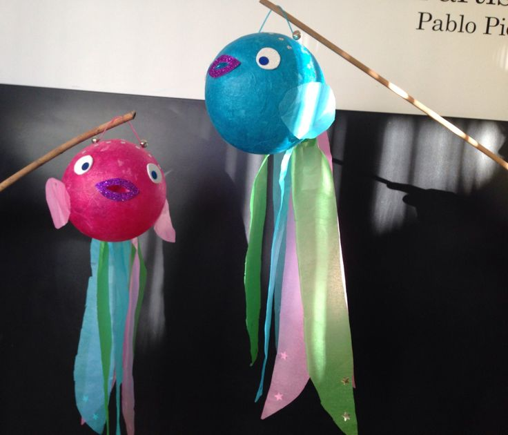 Fanalet de reis / fish lantern / laternenideen
