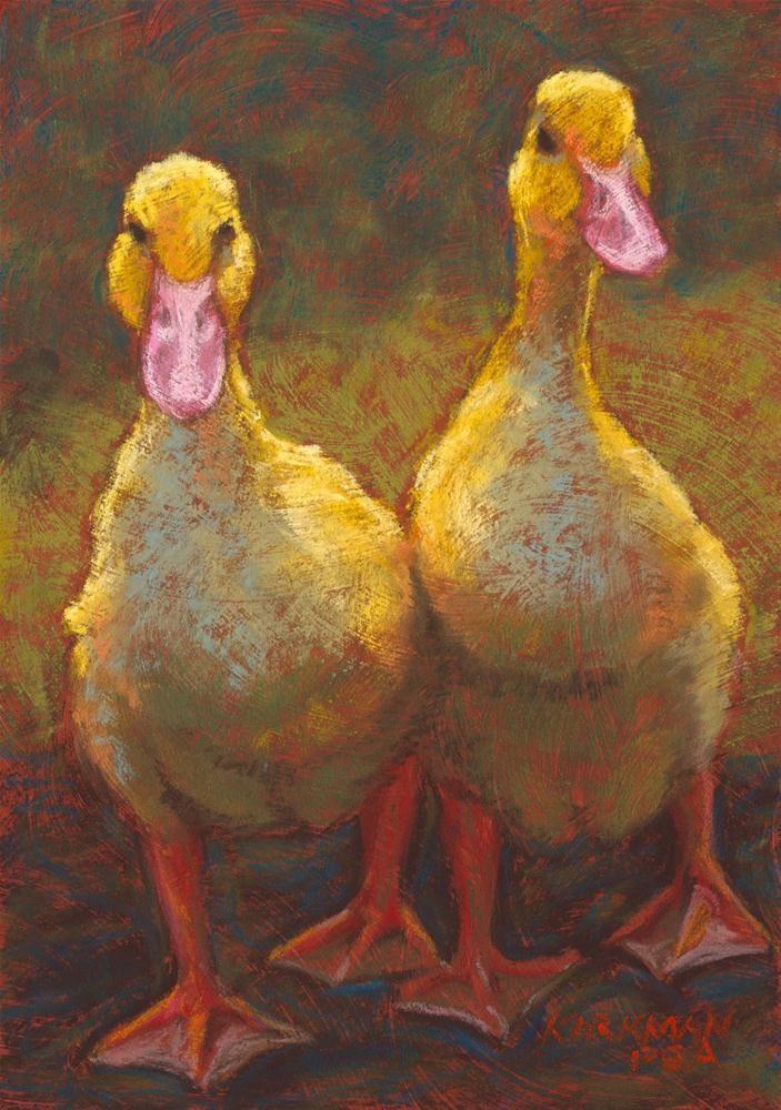 """Walking Out Together"" original fine art by Rita Kirkman"